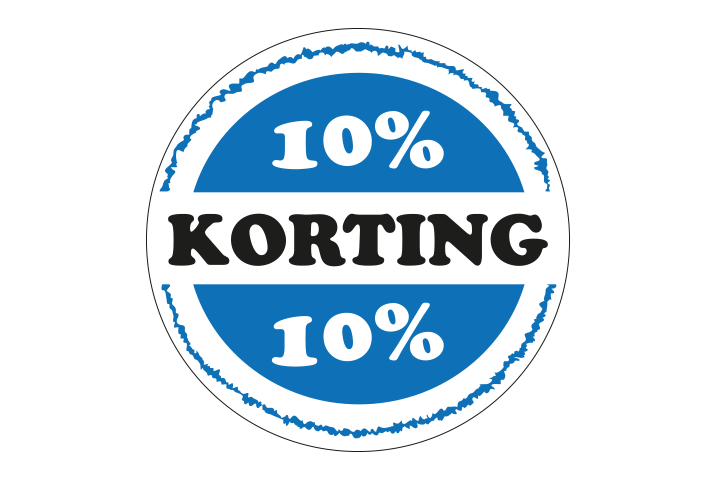 10%-korting